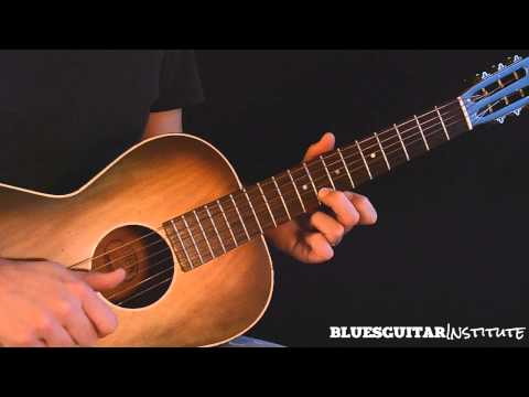 Simple Acoustic Blues Guitar Lick in E