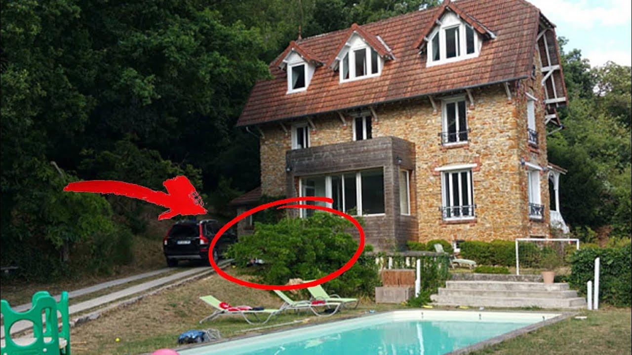 Descubre lo que encontraron al entrar en esta casa real y for Casa actual