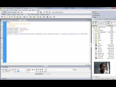 Cara Edit Php Dengan Dreamweaver