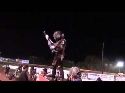 Susquehanna Speedway USAC Sprint Victory Lane 06-12-16