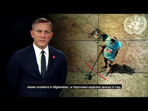 Daniel Craig on the Int'l Day for Mine Awareness and Assistance in Mine Action 4 April 2018