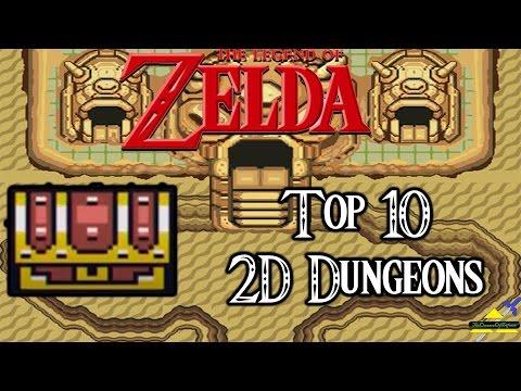 Zelda - Top 10 2D Dungeons