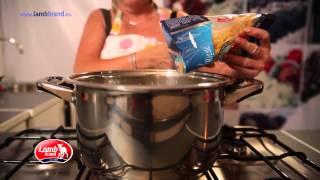Pasta With Tomato Cream Sauce - Lamb Brand Summer #62