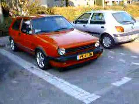 Vw Golf Mkii 1 8 8v Gti 86 Youtube
