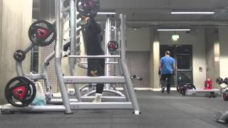 Form Check Squat Bar 20kg 40kg 88lbs