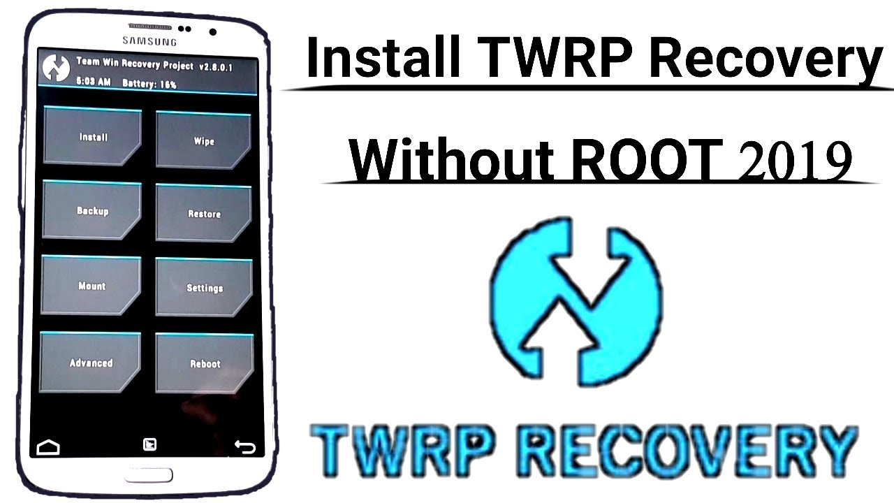 How To Install TWRP Recovery On Any Android Device 100% Working [ Easiest  Method 2019 ] Without Root
