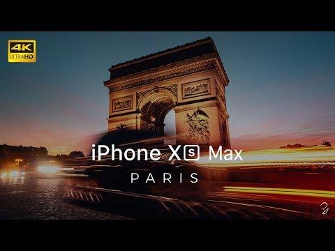 iPhone Xs Max Cinematic - Paris 4K