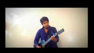 Tere Bin (male) |Guitar cover|ek paheli leela| Uzair Jaswal |Guitar Chords with capo |