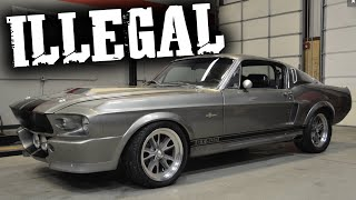 Building Eleanor Replicas Now Illegal, @B is for Build Has Project Car Seized