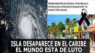 ISLA DESAPARECE EN EL CARIBE POR EL HURACAN IRMA, EL MUNDO ESTA DE LUTO!!!
