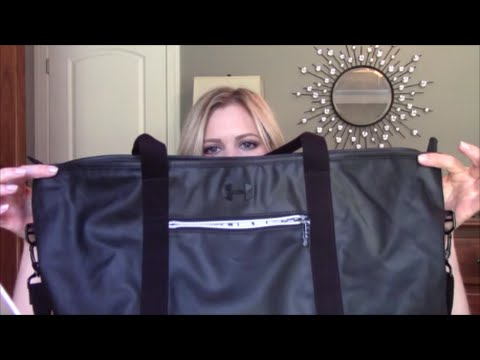 3e0c25d768 What s in my Gym Bag - UA Women s Premiere Tote Bag - YouTube