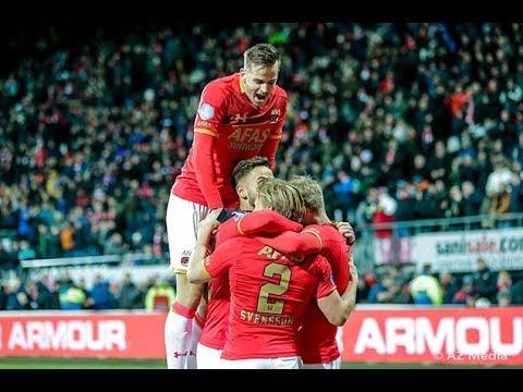 Goals AZ - Heracles Almelo