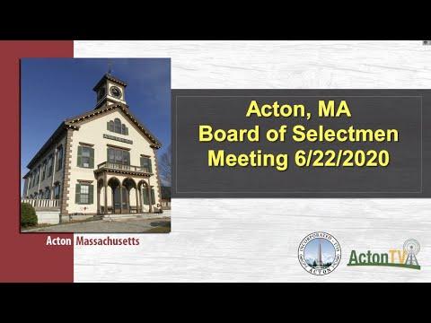 acton,-ma-board-of-selectmen-meeting-6/22/2020