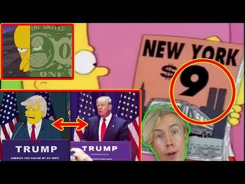 10 gånger The Simpsons förutspått framtiden