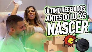 ÚLTIMO RECEBIDOS ANTES DO LUCAS NASCER