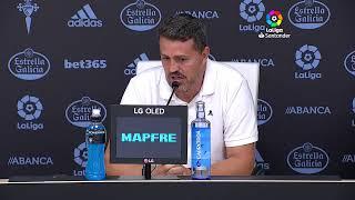 Rueda de prensa RC Celta vs Real Betis