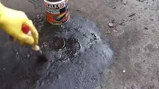 Flat Roof Leak Repair - DIY Hints and Tips