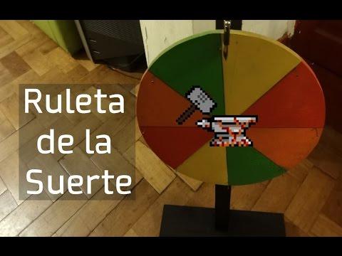 Como hacer una ruleta de la suerte la trituradora 1 for Como hacer una banqueta tapizada