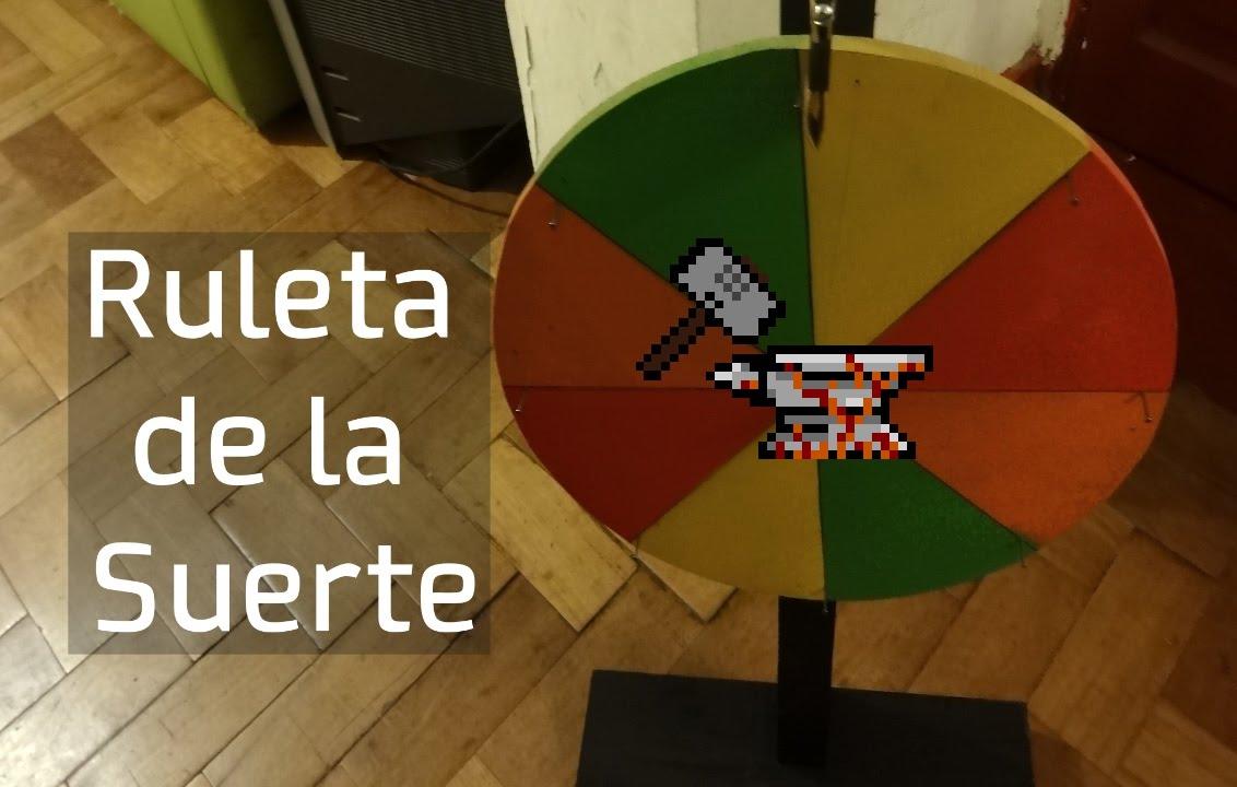 Como hacer una ruleta de la suerte la trituradora 1 for Crear una cubierta de madera