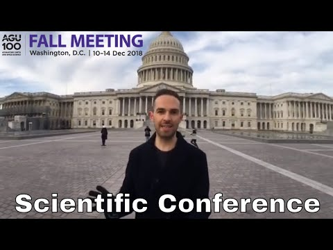 The Largest Space & Geophysics Conference in the World - AGU 2018 in Washington DC | Science Vlogs