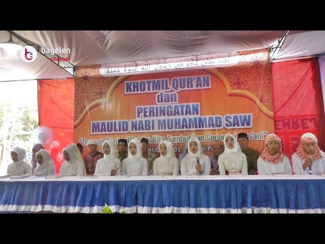 Khotmil Qur'an dan Peringatan Maulid Nabi Muhammad SAW Mushola Nurul Huda Pangenrejo #Part2
