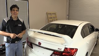 PRO Design TRM Style Spoiler / Wing Install - Honda Civic Sedan 2012 2013 2014 2015