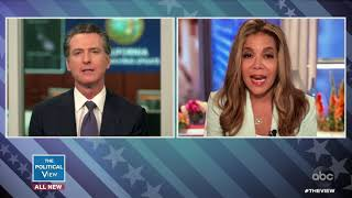 Gov. Gavin Newsom Discusses California Budget Cuts and School Reopenings | The View