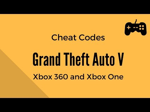 Grand Theft Auto V (GTA ) - All Cheat Codes - Xbox  and Xbox One