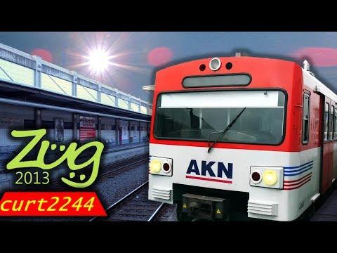 Zug2013 / curt2244: AKN Dokumentation | Geschichte, Fahrplan, Fahrzeuge (Lint BR622, VTA, VTE)