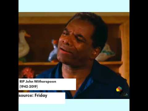 RIP John Witherspoon (1942-2019) (Vertical Video) | @baabmedia
