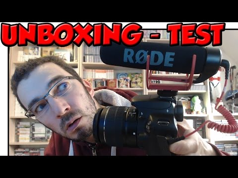 Micro RODE Videomic GO - Unboxing + Test