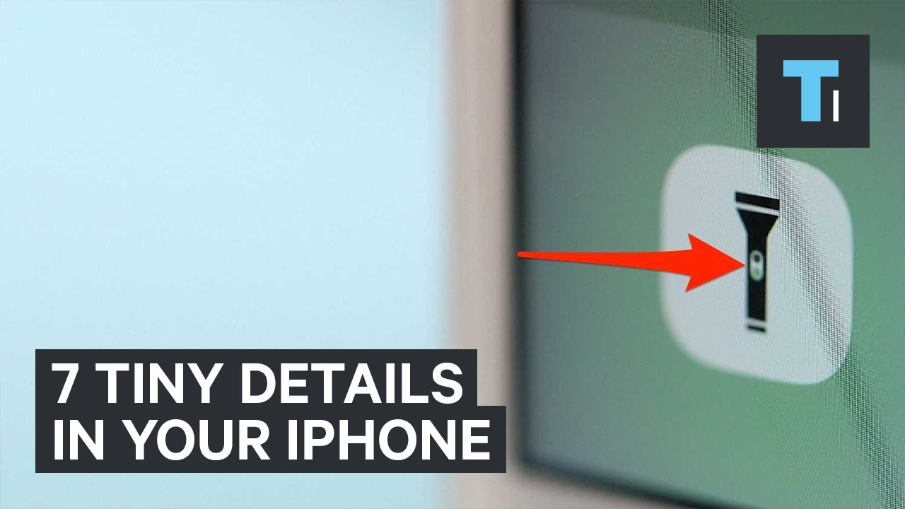 7 Tiny Detais In Your iPhone