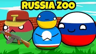 Glorious Russia Zoo - Countryball animation
