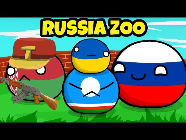 Glorious Russia Zoo - Countryball animation