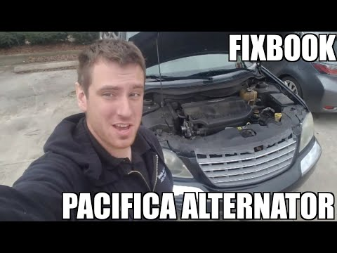 "Alternator 04-08 Chrysler Pacifica Replacement ""How to"""