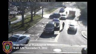 Traffic Crash: State St at Washington St Wellesley Massachusetts