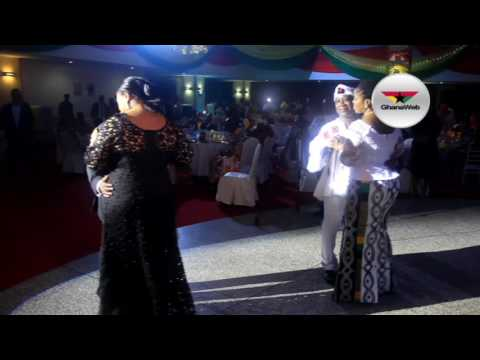 President Akufo-Addo  and First Lady Rebecca Akufo-Addo dance at Ghana Unity Ball 2017