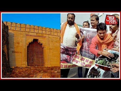 Gates of Chittor Palace Closed Due Padmavati Protest Today