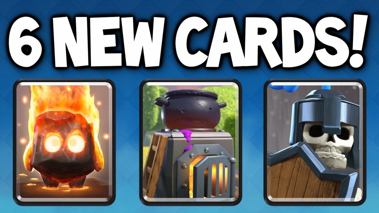 """Clash Royale ★ NEW UPDATE SNEAK PEEK #3 - 6 NEW CARDS! - """"FIRE ..."""
