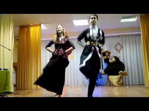 Лезгинка,грузинский танец - 2016(Татарча лезгинка)