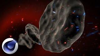 Cinema 4D – Заражение частицы крови в Cinema 4D Вирус Эбола  Часть 1