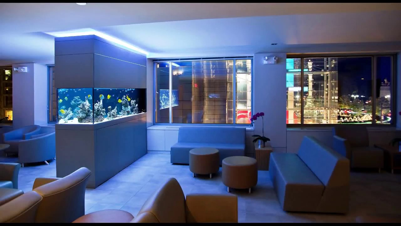 Aquarium Design Ideas for Residential Interior | Interior Decoration Ideas