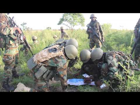 Ghana Armed Forces training