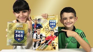 ALBUM FIFA 365 PANINI + SPACCHETTAMENTO BOX INTERO