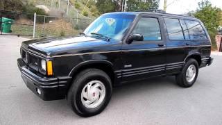 Oldsmobile Bravada S-10 Blazer Video Review 4x4 SUV 1 Owner 4.3
