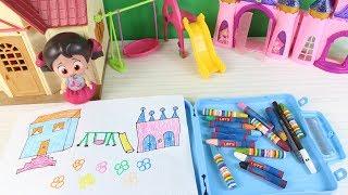Niloya Ödev Yapıyor Niloyanın Boya Çantası Eğlenceli Çocuk Videosu