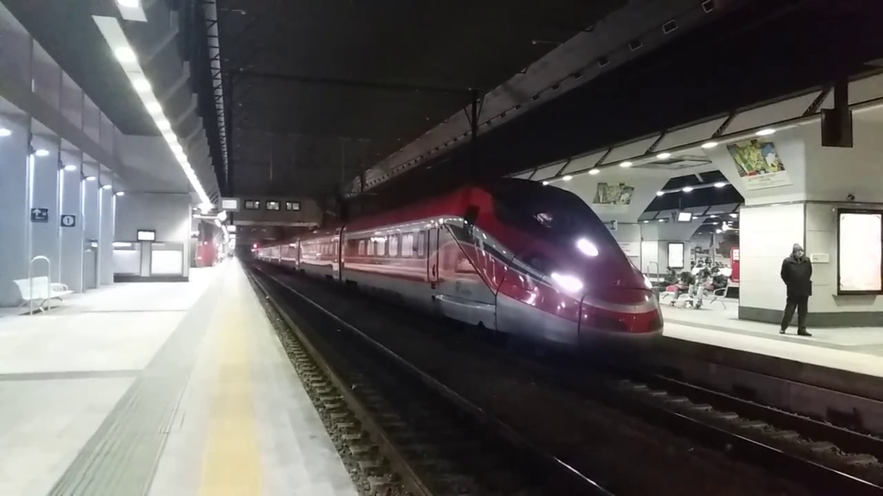 Etr 400 in partenza da torino porta susa youtube - Stazione treni torino porta susa ...