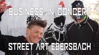 Business in Concert - StreetArt Ebersbach Anthipunki / TS Special Tina Schüssler & Thomas Sedlmeier