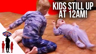 Mother Gets Emotional Over Kids Behaviour At Bedtime | Supernanny US