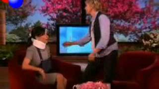 Did Ellen Break Julia Louis-Dreyfus' Neck